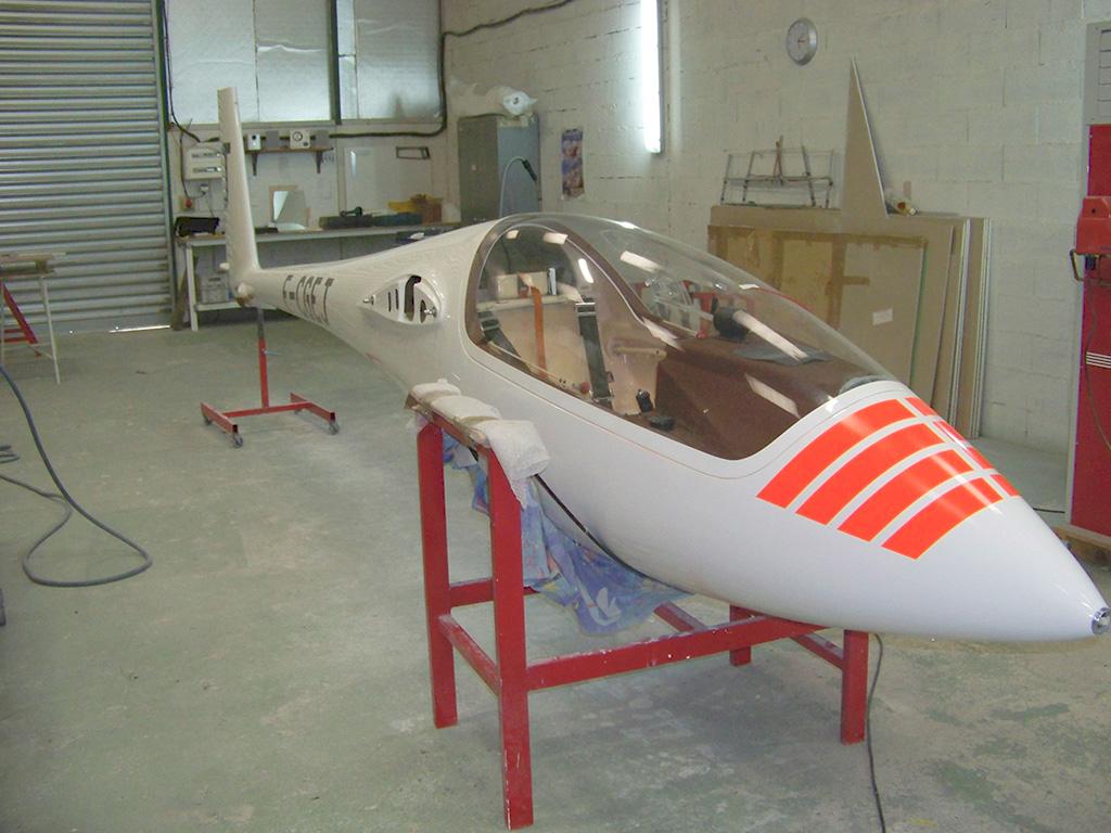 aerostrat gelcoat fuselage fininition