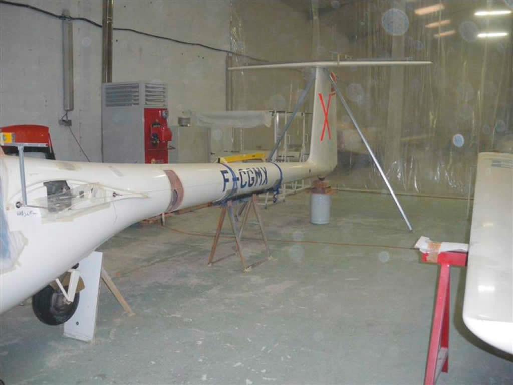 Marian fuselage accidendé