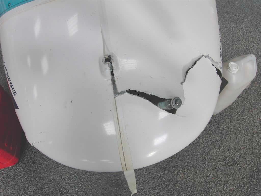 réparation Wallaby accidenté